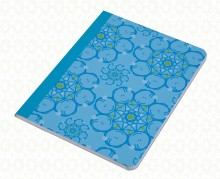 Circle girls blue notebook F2