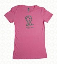 Pink Dog Tee F2