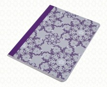 Violet Circle Girls notebook F2