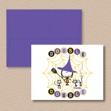 Double Double Note Cards